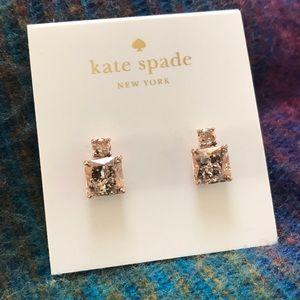 Kate Spade Rose Patina Drop Earrings